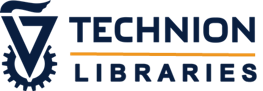 Technion Libraries English Logo